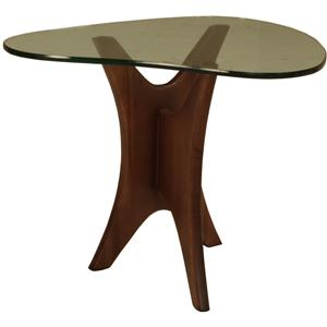 McCreary Modern Occasional Tables Boomerang End Table
