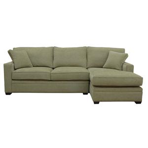 McCreary Modern 0693 Sectional Sofa with RAF Chaise