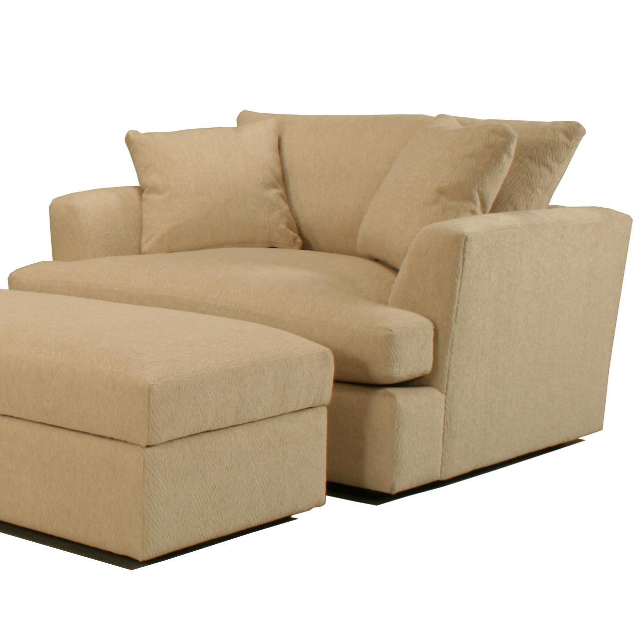 Cirrus Chair and a Half by BeModern at Belfort Furniture
