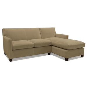 McCreary Modern 1050 Two Piece Chaise Sectional Sofa