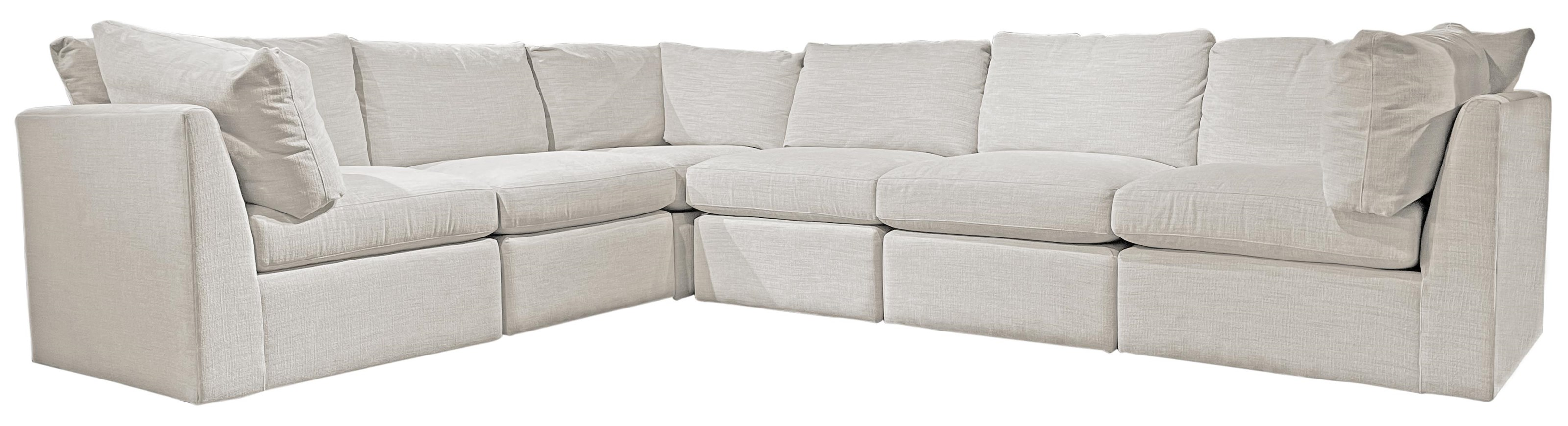 Slipped Pit Sectional Modular 6 Piece Sectional by McCreary Modern at C. S. Wo & Sons Hawaii