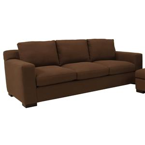 McCreary Modern 1095 Contemporary Three Seat Sofa