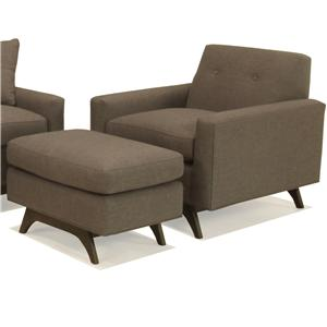 McCreary Modern 1482 Chair and Ottoman