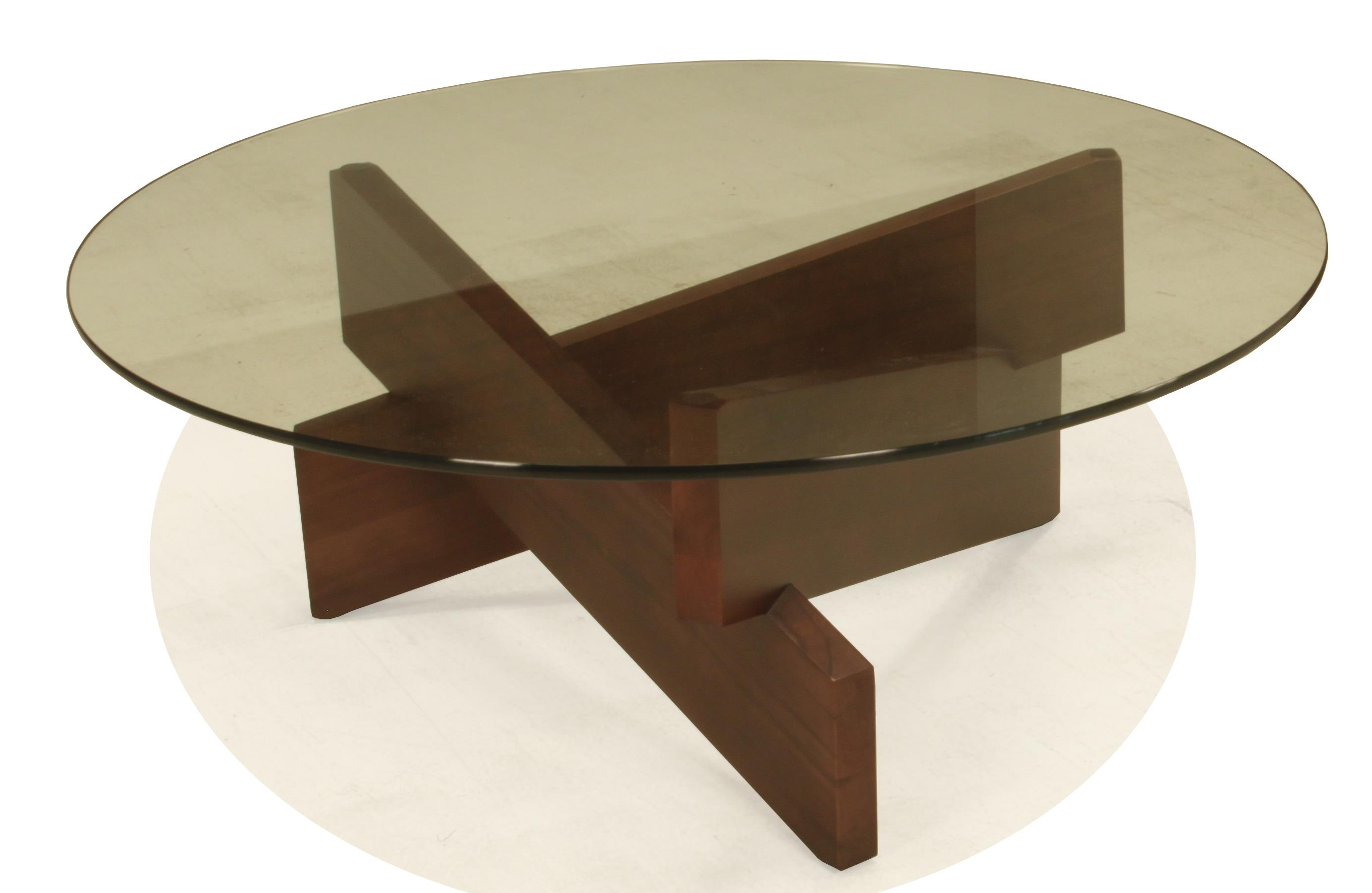 Kaia Round Cocktail Table by BeModern at Belfort Furniture