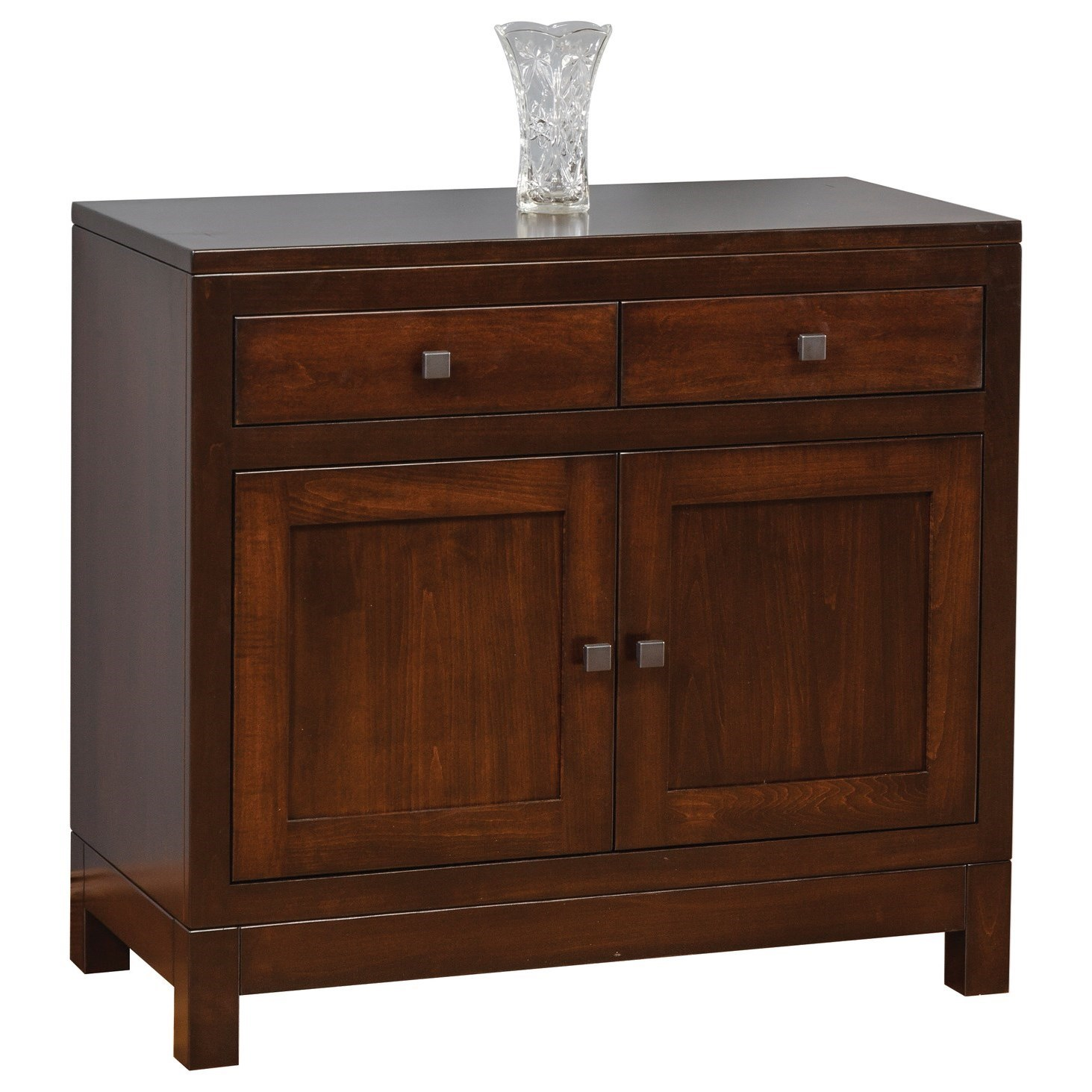 Hampton Hutch Base by Meadow Lane Wood at Saugerties Furniture Mart