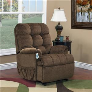 Wall-Away Lift Recliner with Tufted Back