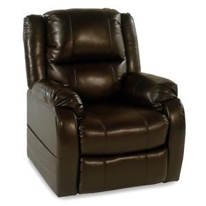 3-Position Reclining Lift Chair w/ Pillow Arms: Chestnut