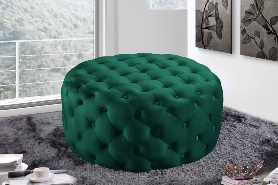 Addison Ottoman by Meridian Furniture at Dream Home Interiors