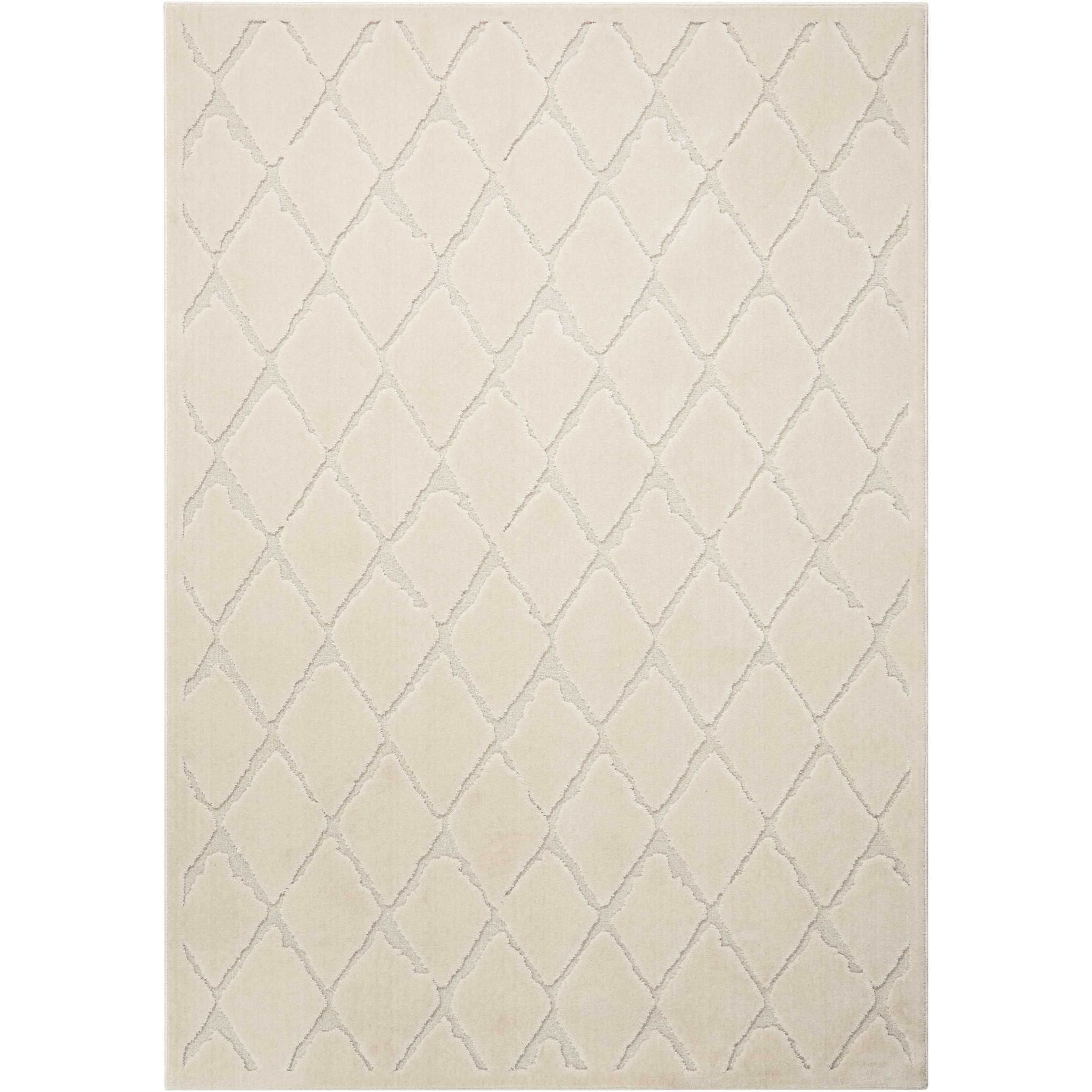 """Gleam 9'3"""" x 12'9"""" Rug by Michael Amini by Nourison at Home Collections Furniture"""