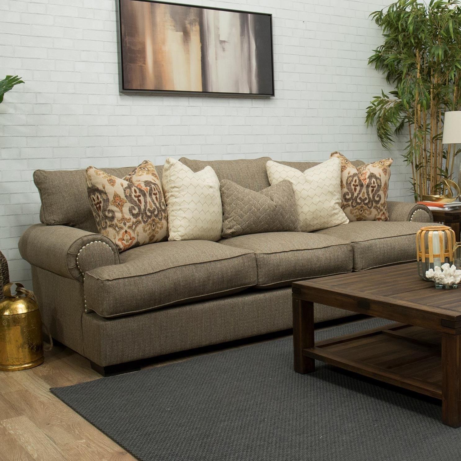 Bereta Gel-Infused Sofa by Michael Nicholas at Pilgrim Furniture City