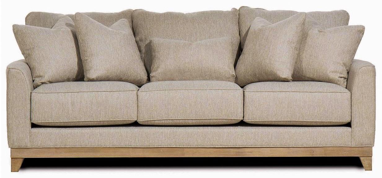 Brackley Whitman Mist Sofa by Michael Nicholas at Beck's Furniture