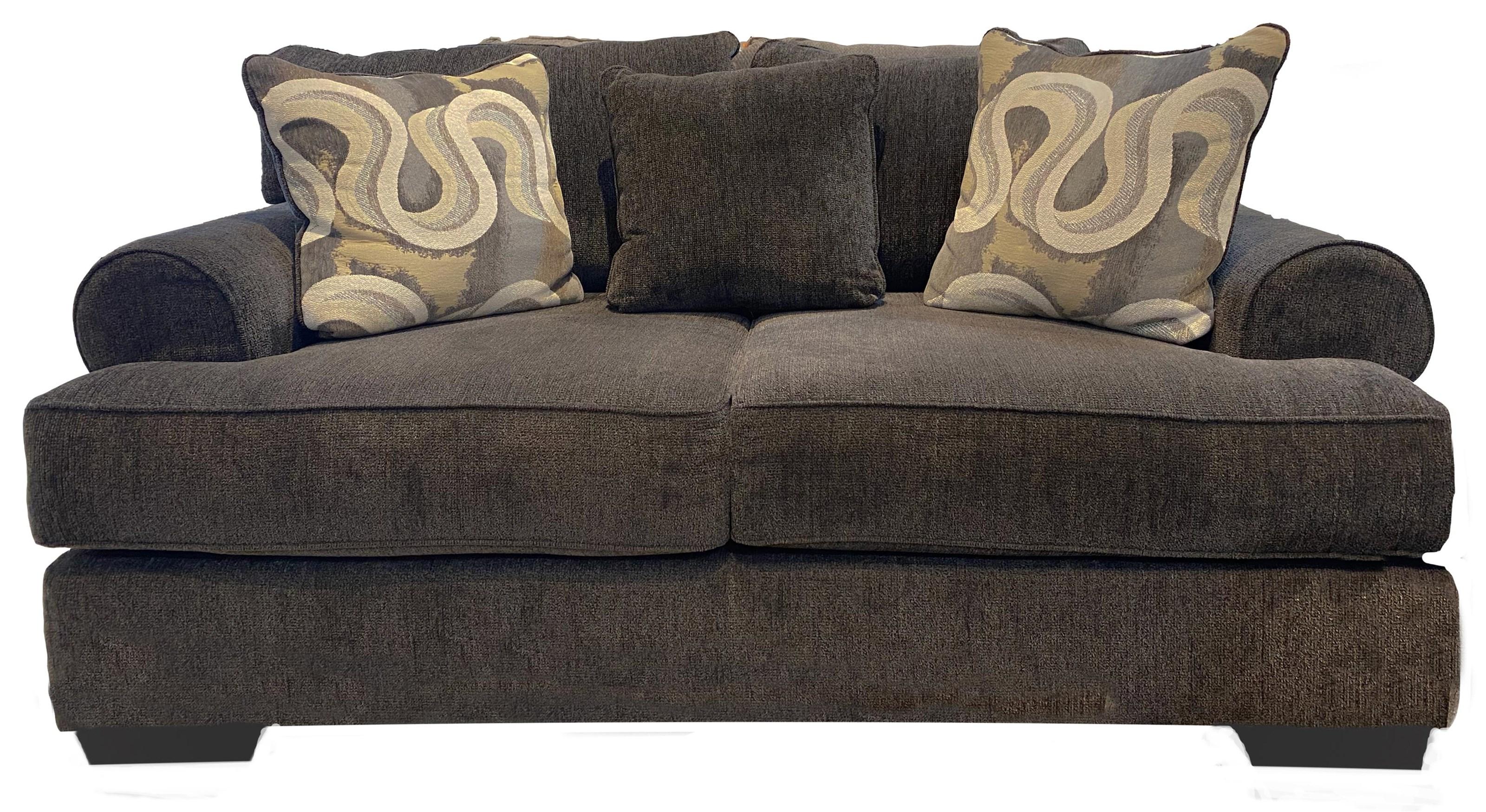 Camaro Champ Granite Loveseat by Michael Nicholas at Beck's Furniture