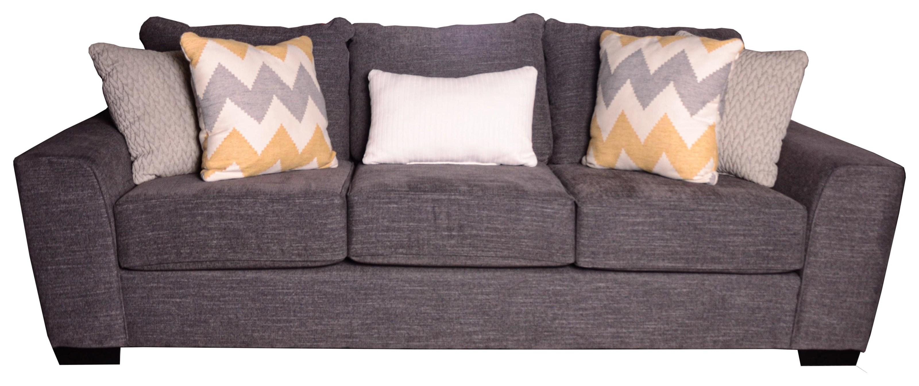 Desperado Curious Charcoal Sofa by Michael Nicholas at Beck's Furniture
