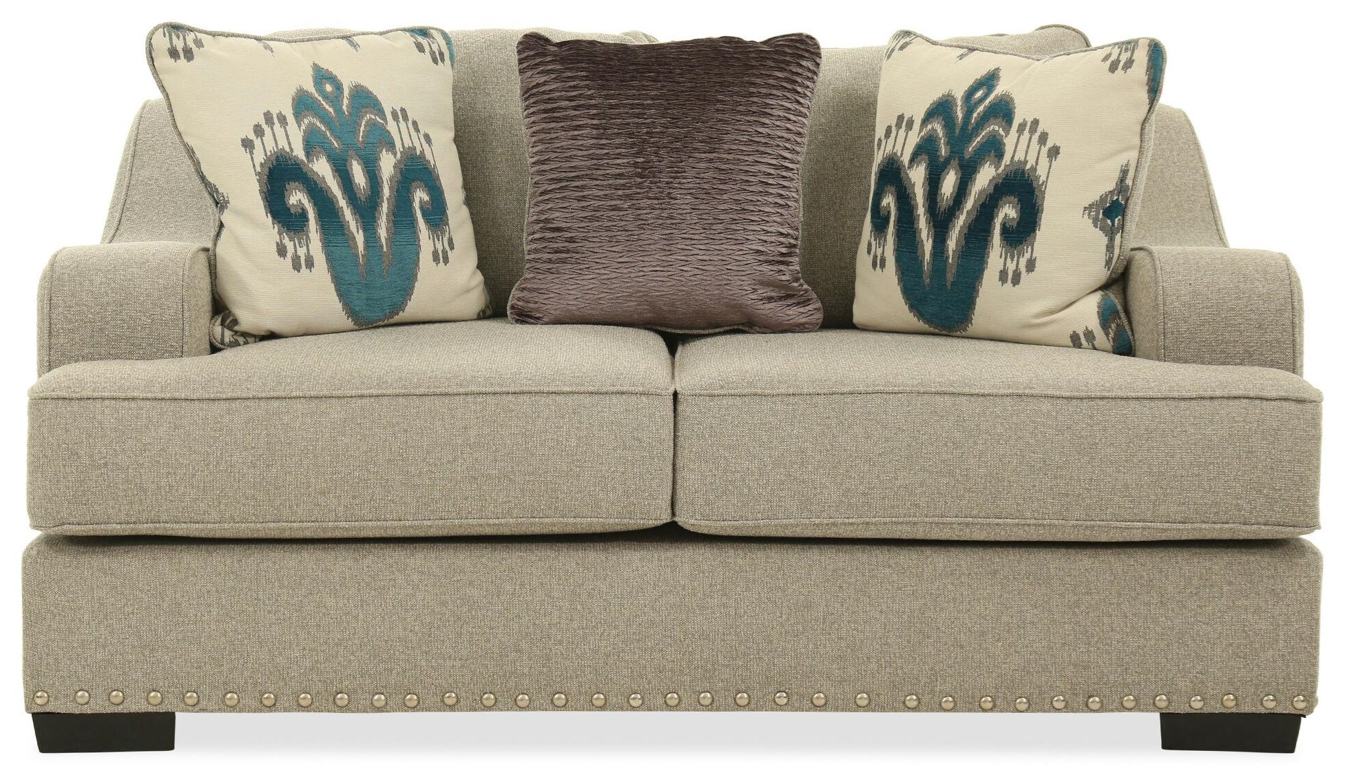 Jayne Southpaw Rocky Loveseat by Michael Nicholas at Beck's Furniture