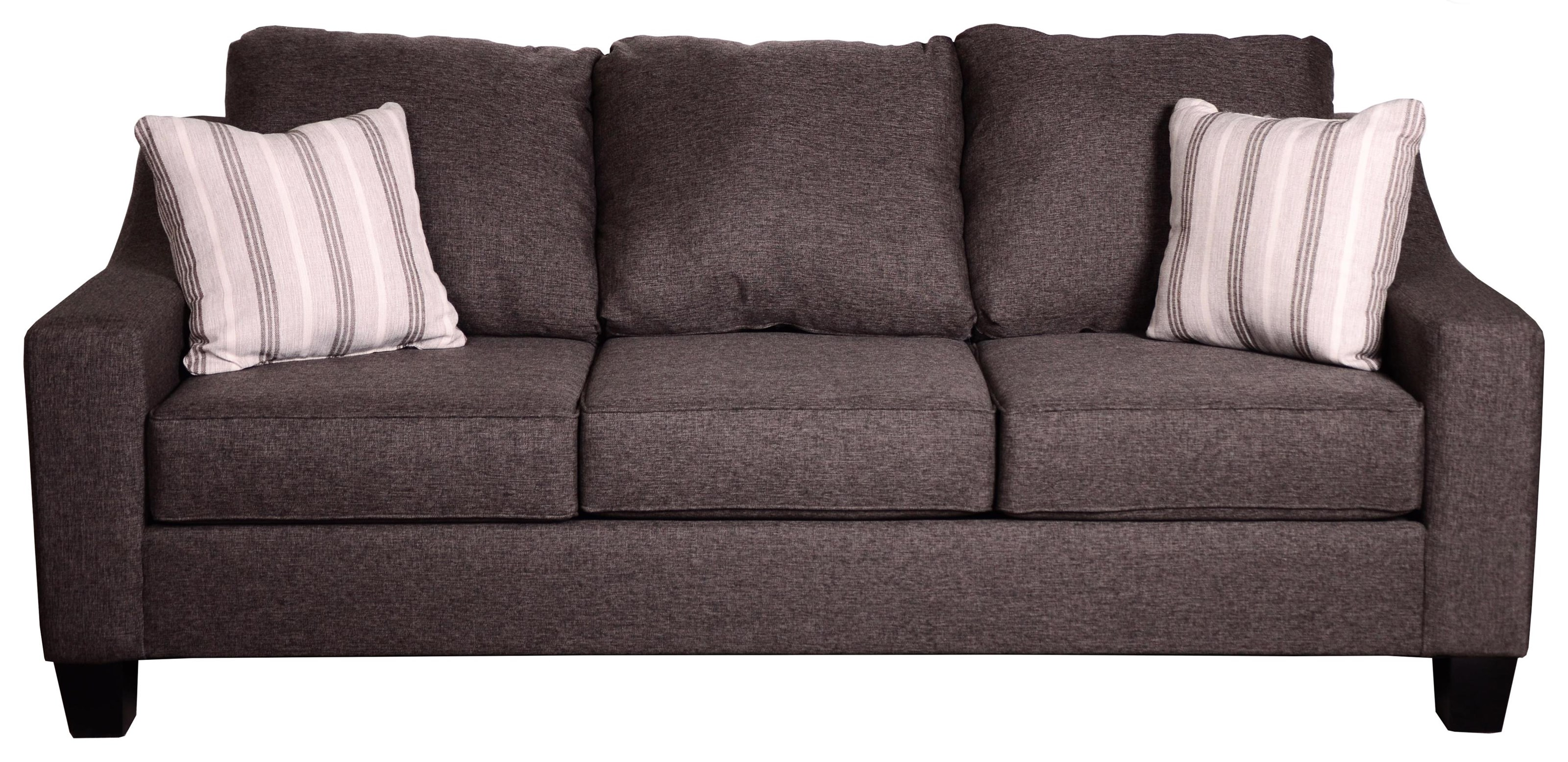 Lucy Splash Charcoal Sofa by Michael Nicholas at Beck's Furniture