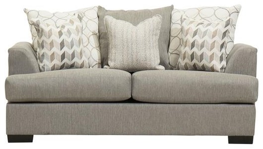 Passport Justice Stone Loveseat by Michael Nicholas at Beck's Furniture