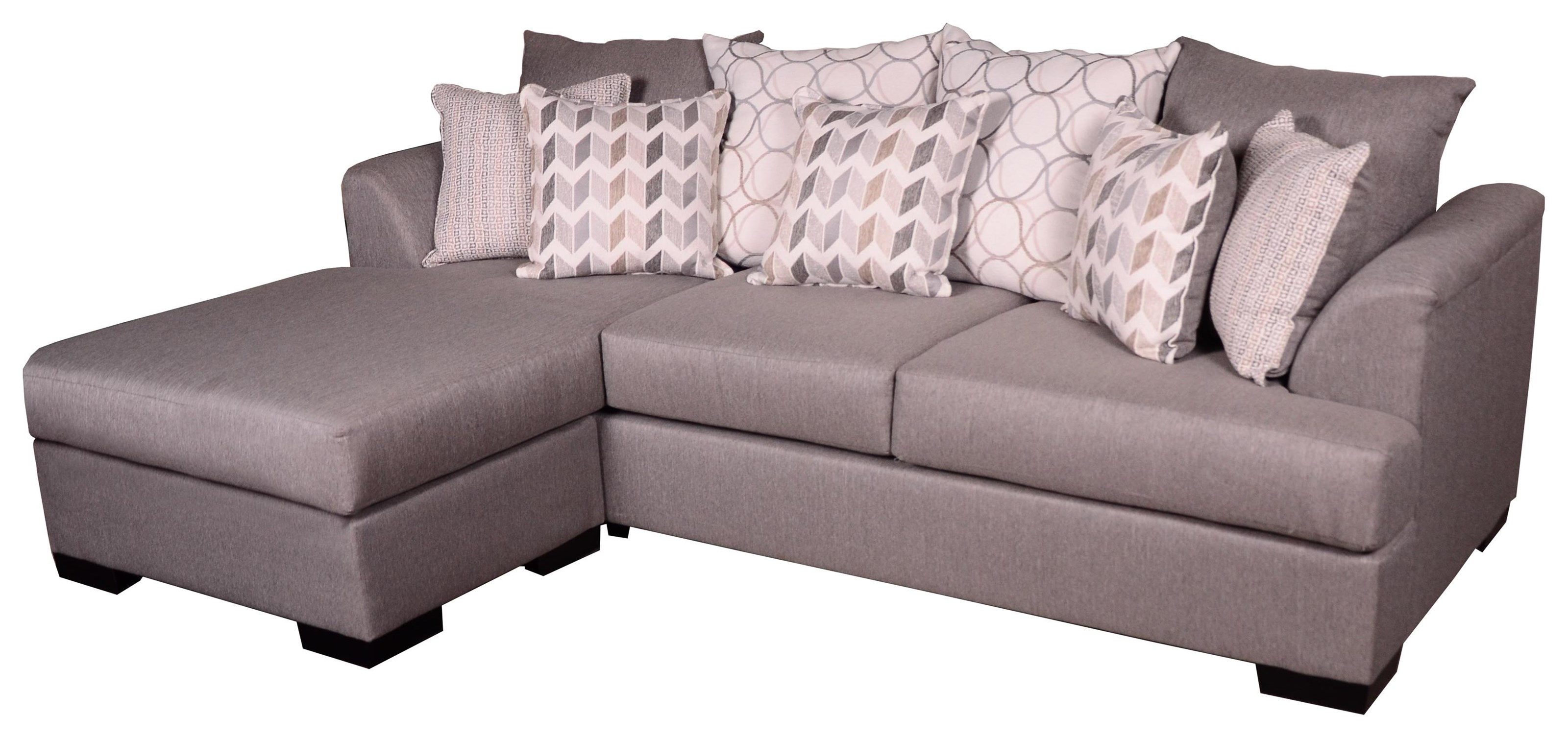 Passport Justice Stone Sectional Sofa by Michael Nicholas at Beck's Furniture