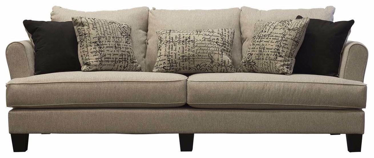 Rachel Omega Mist Sofa by Michael Nicholas at Beck's Furniture