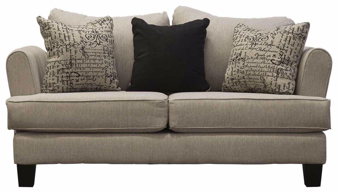Rachel Omega Mist Loveseats by Michael Nicholas at Beck's Furniture