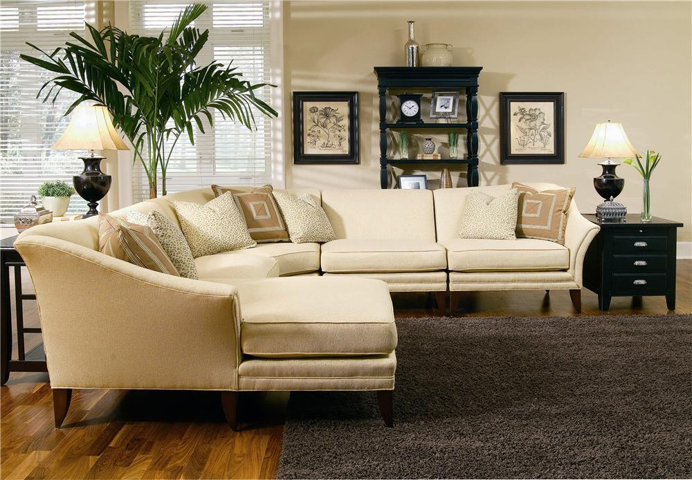 8019 Sectional by Michael Thomas at Alison Craig Home Furnishings