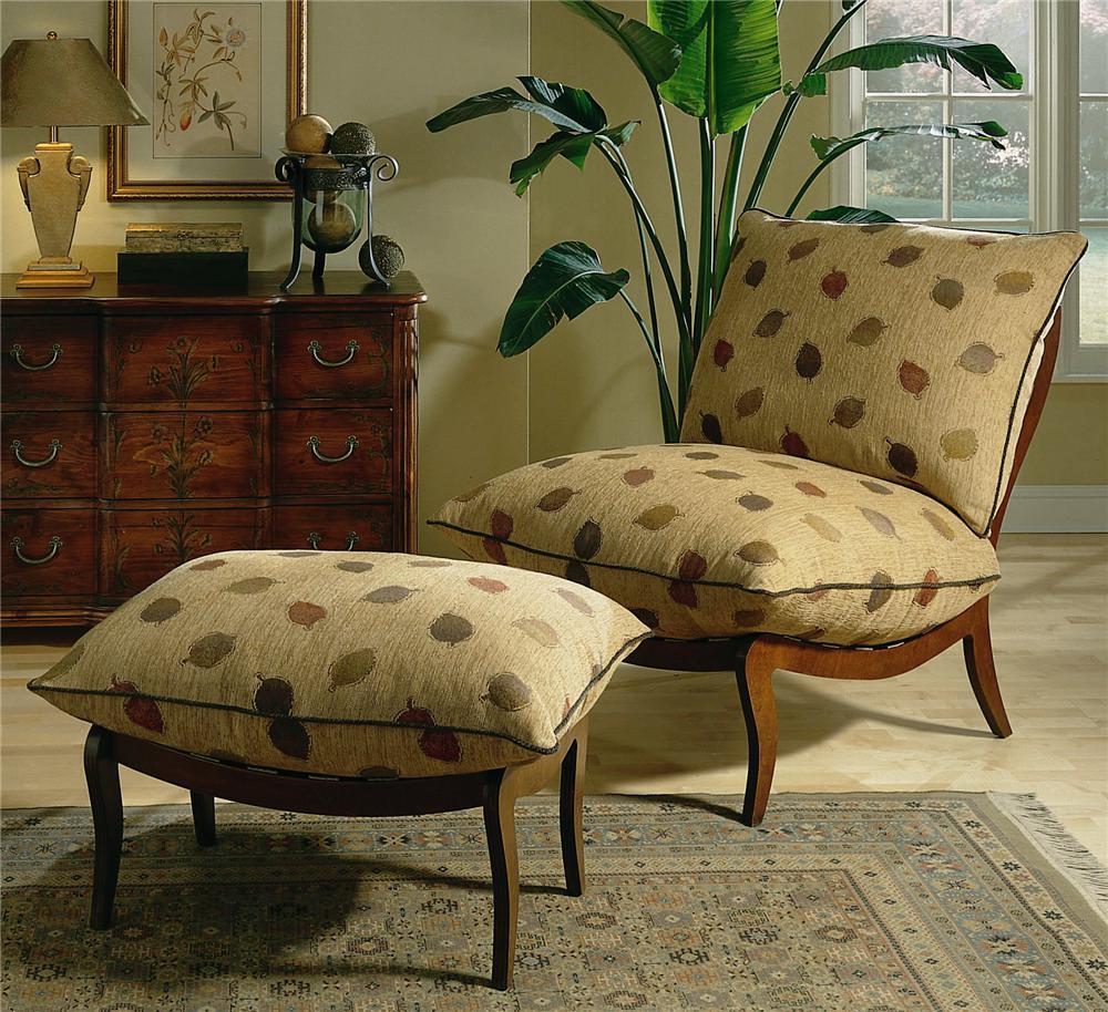 8200 Chair & Ottoman by Michael Thomas at Alison Craig Home Furnishings