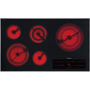 "Miele Cooktops 36"" Electric Smoothtop Cooktop"