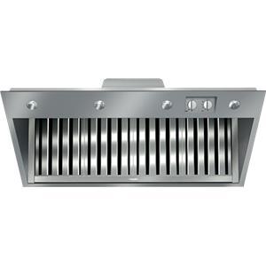 "Miele Hoods and Ventilation - Miele DAR1150 48"" Range Insert Hood"