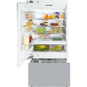 "Miele Refrigerator Collection 36"" Built-In Bottom-Freezer Refrigerator"