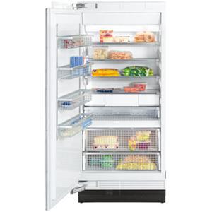 "Miele Single Door Freezers - Miele 36"" F1913 SF Clean Touch Steel™ Freezer"