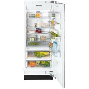 """Miele Single Door Refrigeration - Miele 30"""" K1803 SF Clean Touch Steel™ Refrigerator"""