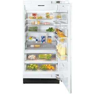 """Miele Single Door Refrigeration - Miele 36"""" K1903 SF Clean Touch Steel™ Refrigerator"""