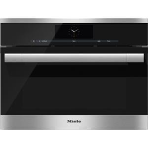 "Miele Wall Oven Collection 1.7 cu. ft. 24"" Single Steam Oven"