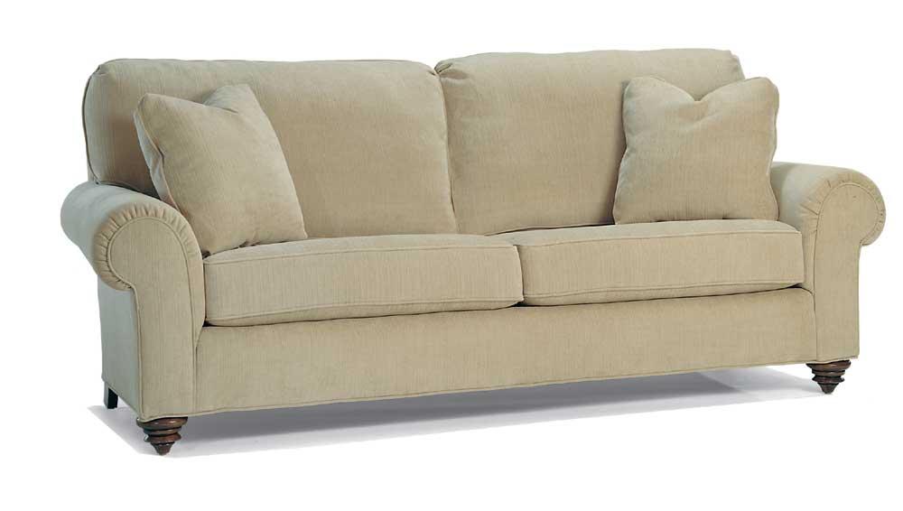 1550 Series Sleeper Sofa by Miles Talbott at Malouf Furniture Co.