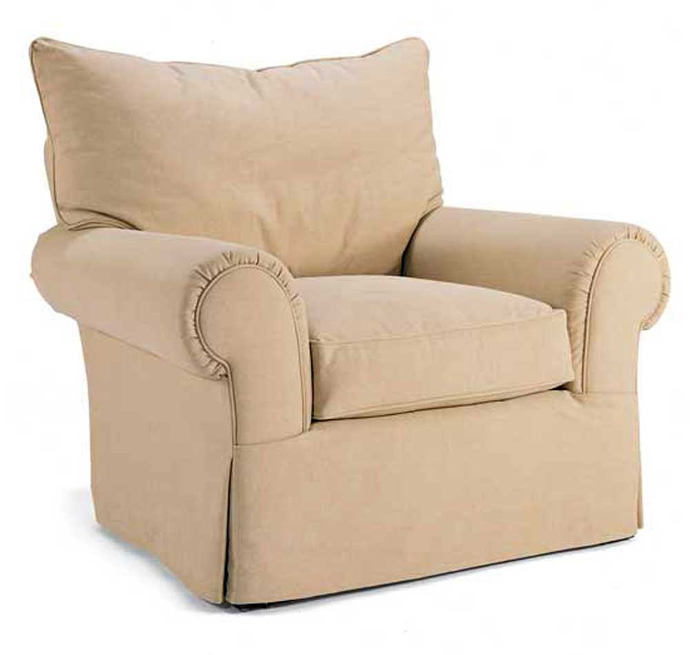1560 Series Swivel Chair by Miles Talbott at Alison Craig Home Furnishings