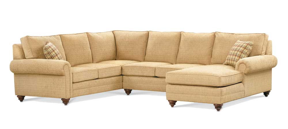 2290 Series Sectional Sofa by Miles Talbott at Alison Craig Home Furnishings