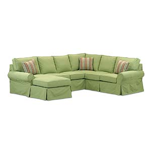 Miles Talbott Washable Wonders Ann Sectional Sofa