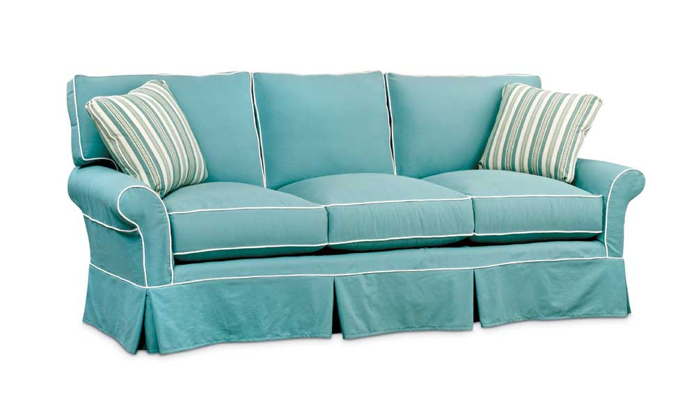 Washable Wonders Beth Sofa by Miles Talbott at Alison Craig Home Furnishings