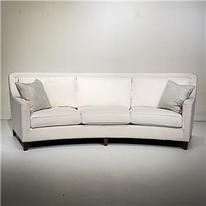 3/3 Curved Sofa