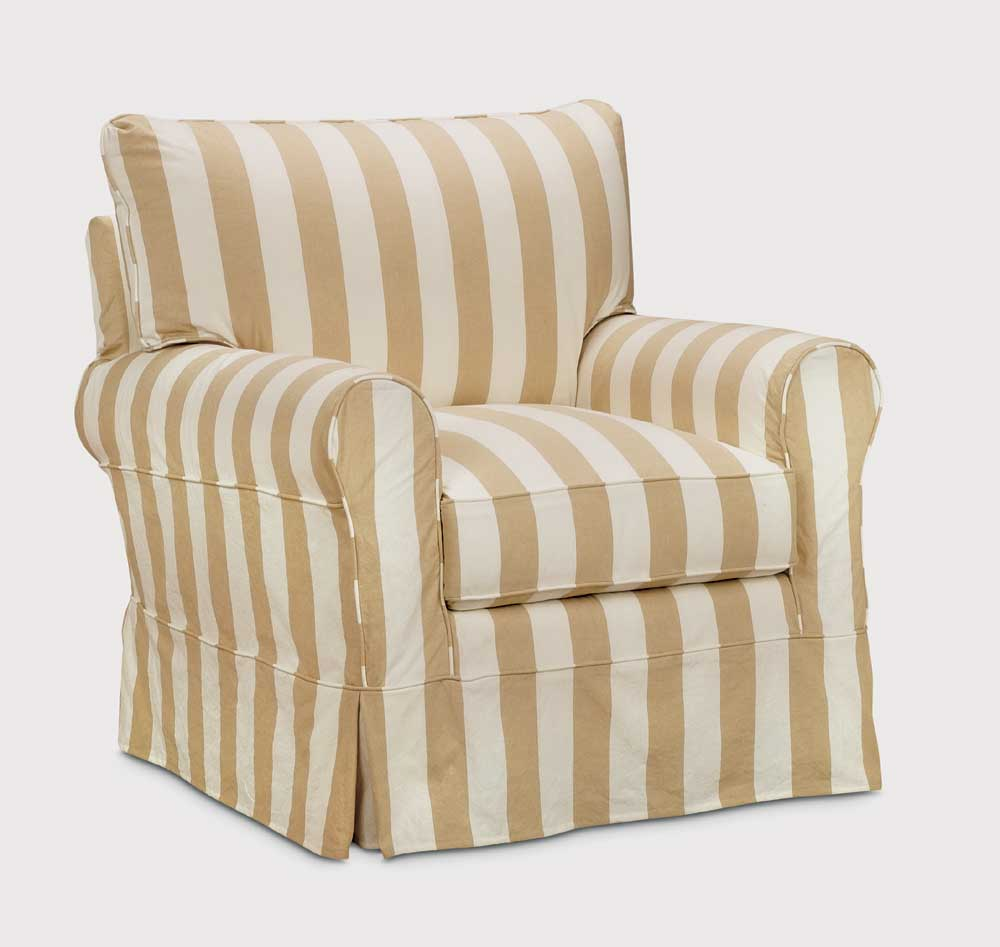 Washable Wonders Emily Chair by Miles Talbott at Alison Craig Home Furnishings