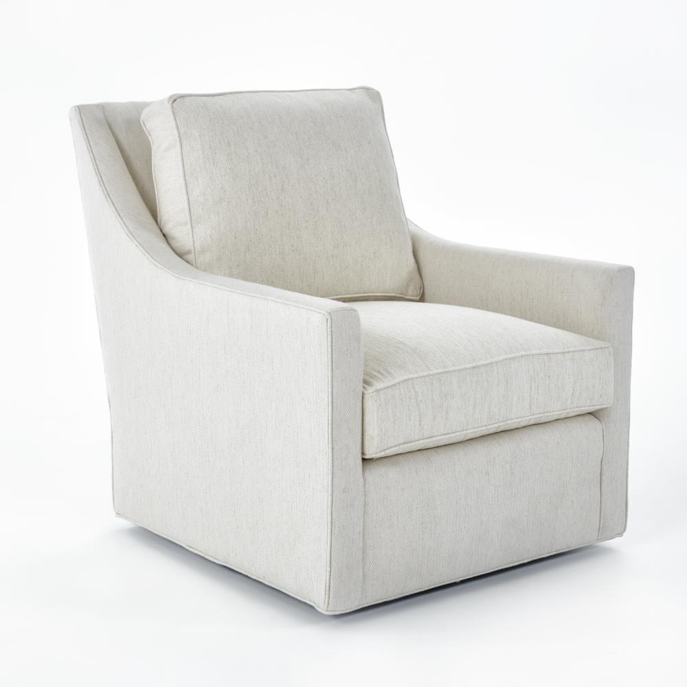Fairfax Swivel Chair by Miles Talbott at Baer's Furniture