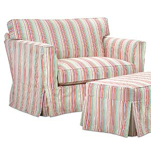 Miles Talbott Washable Wonders Mary Slipcover Chair & a Half