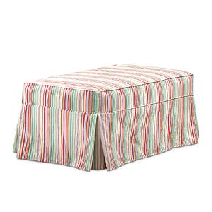 Miles Talbott Washable Wonders Mary Slipcover Ottoman
