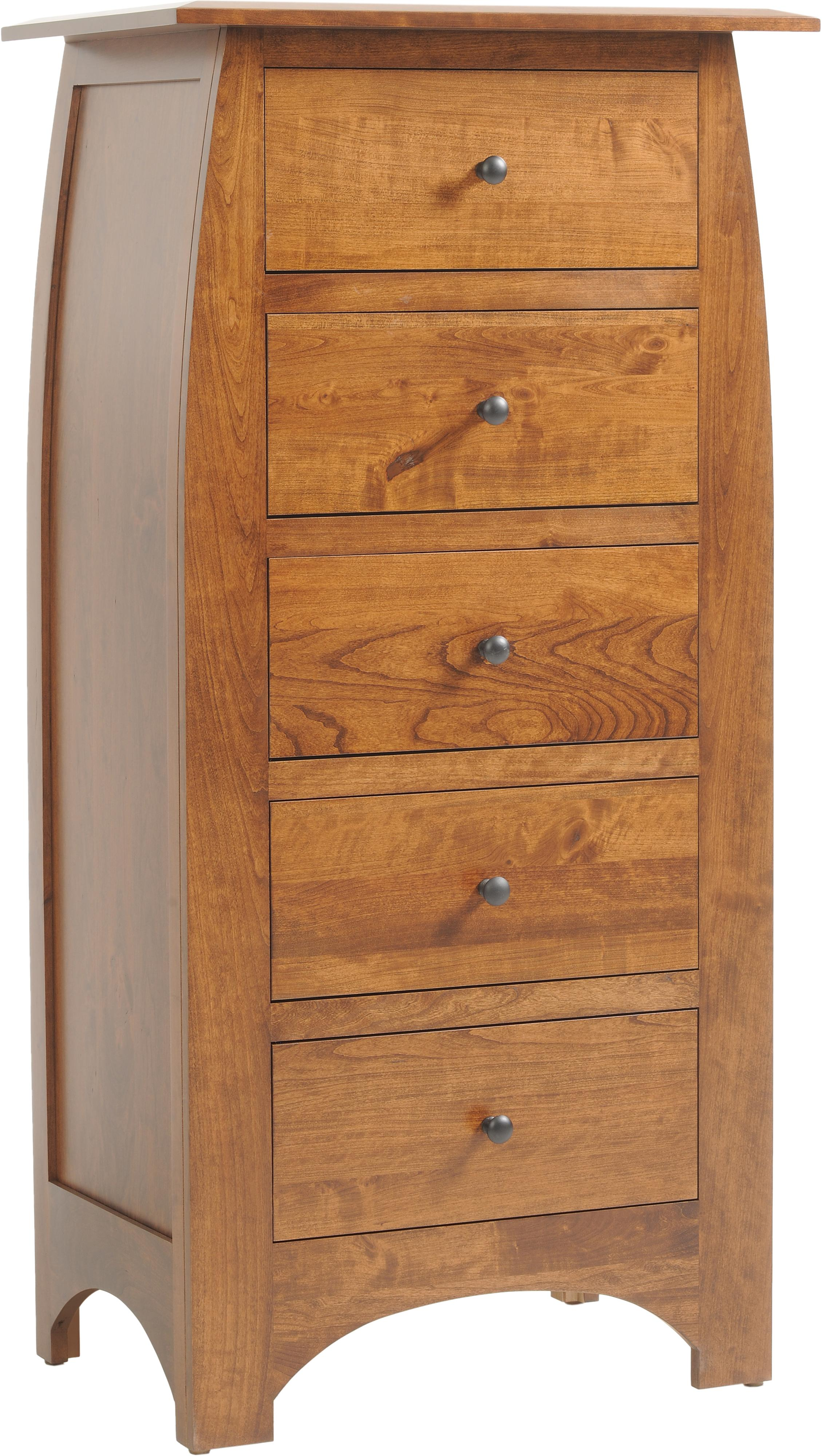 Bordeaux Lingerie Chest by Millcraft at Saugerties Furniture Mart