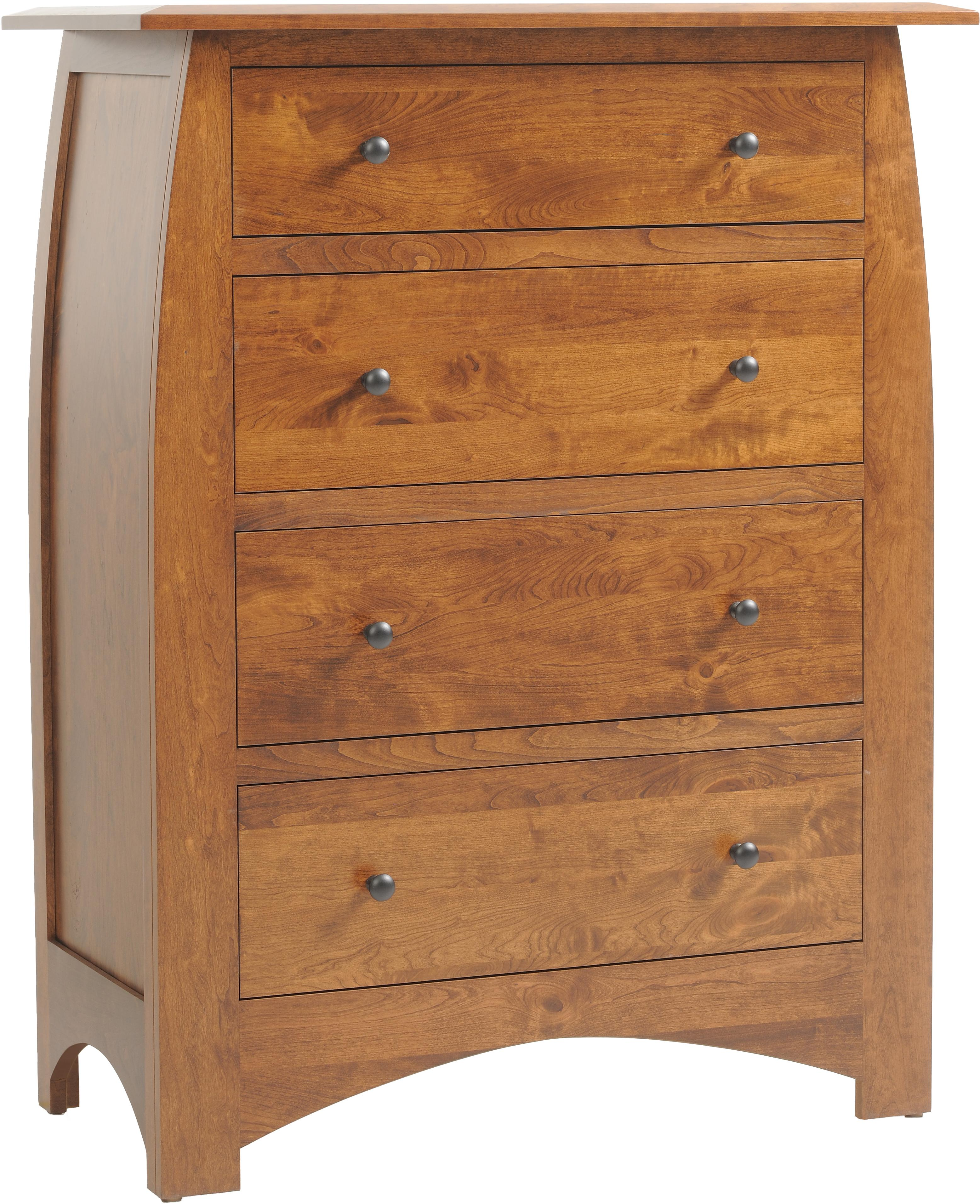 Bordeaux Chest of Drawers by Millcraft at Saugerties Furniture Mart
