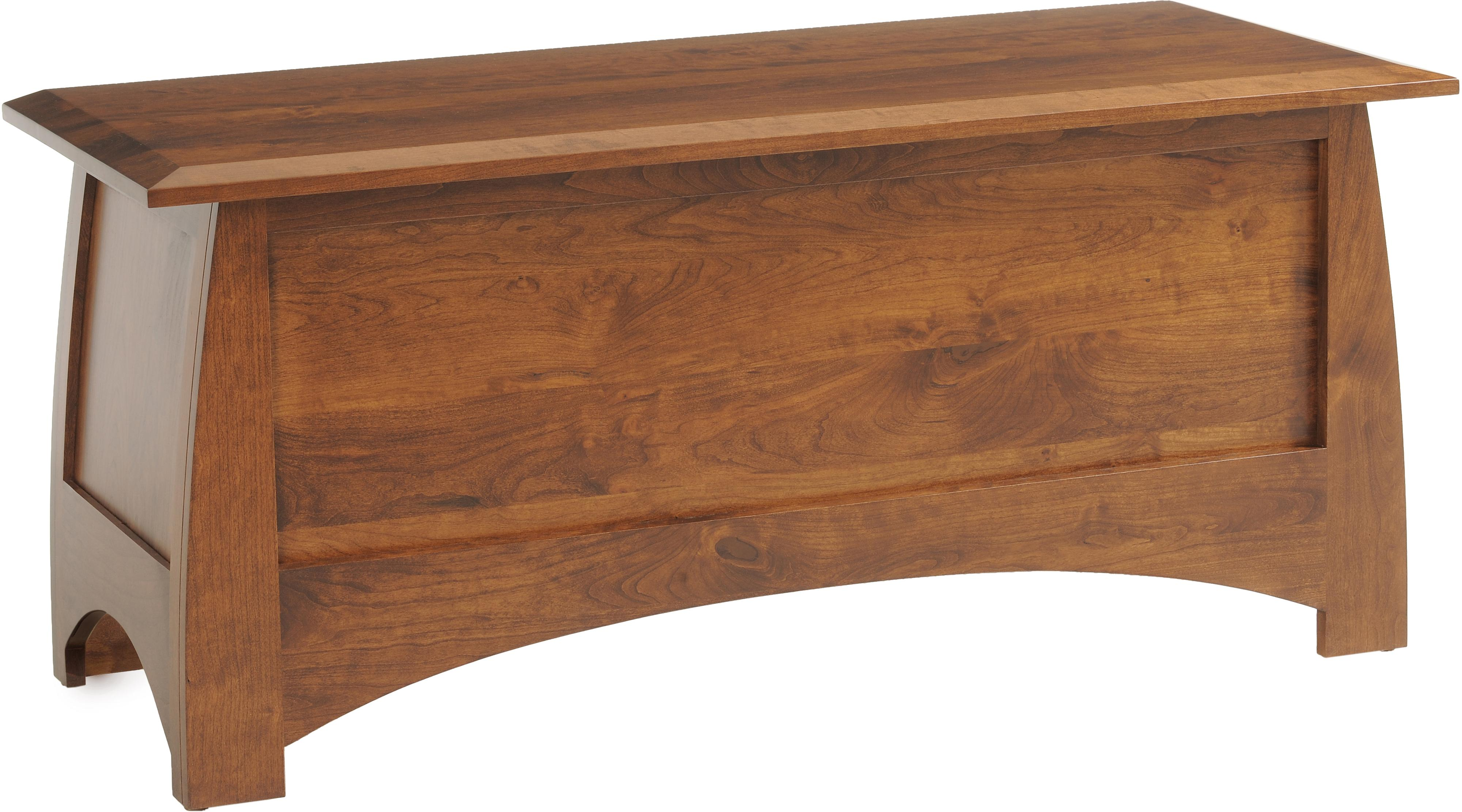 Bordeaux Blanket Chest by Millcraft at Saugerties Furniture Mart