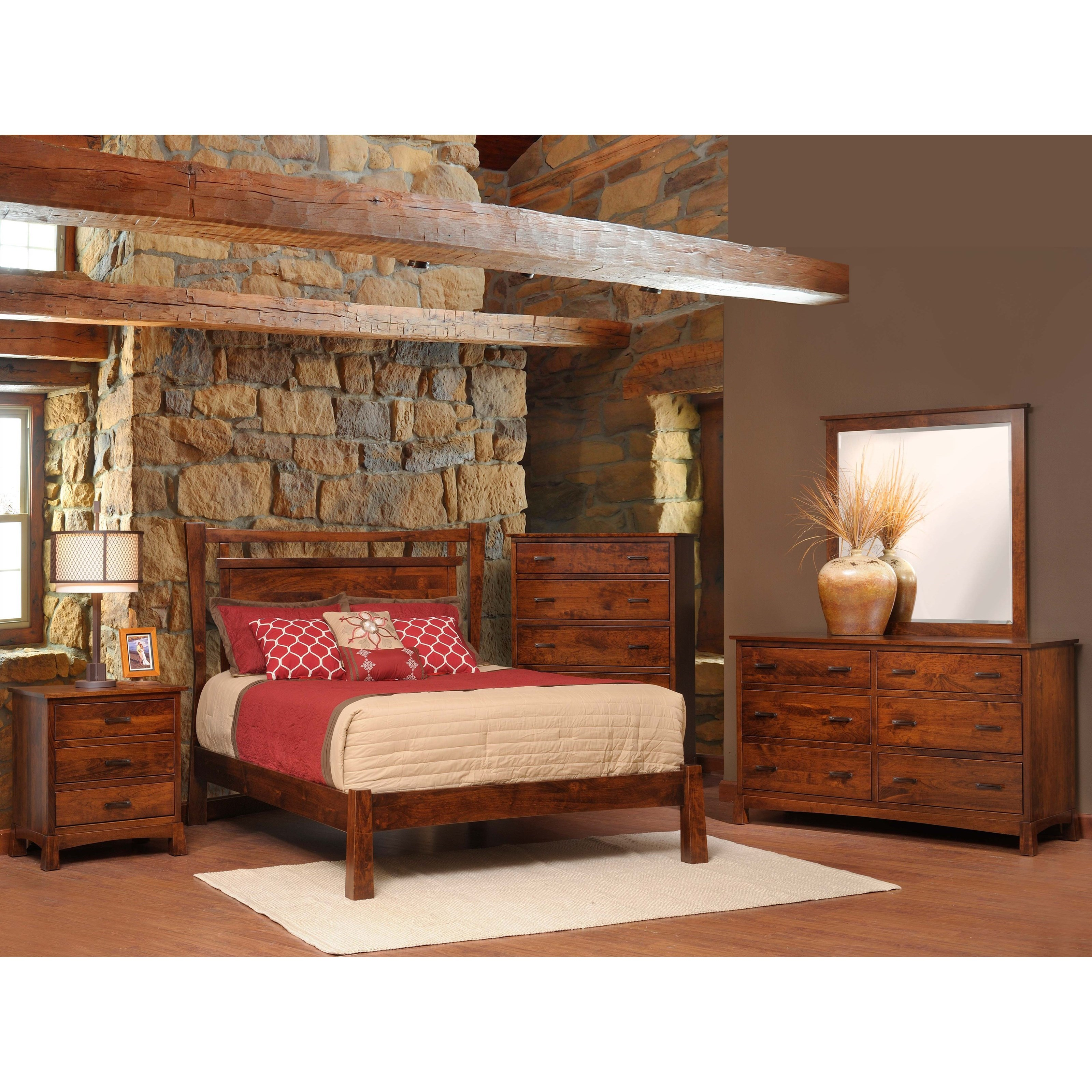 Catalina King Bedroom Group by Millcraft at Saugerties Furniture Mart