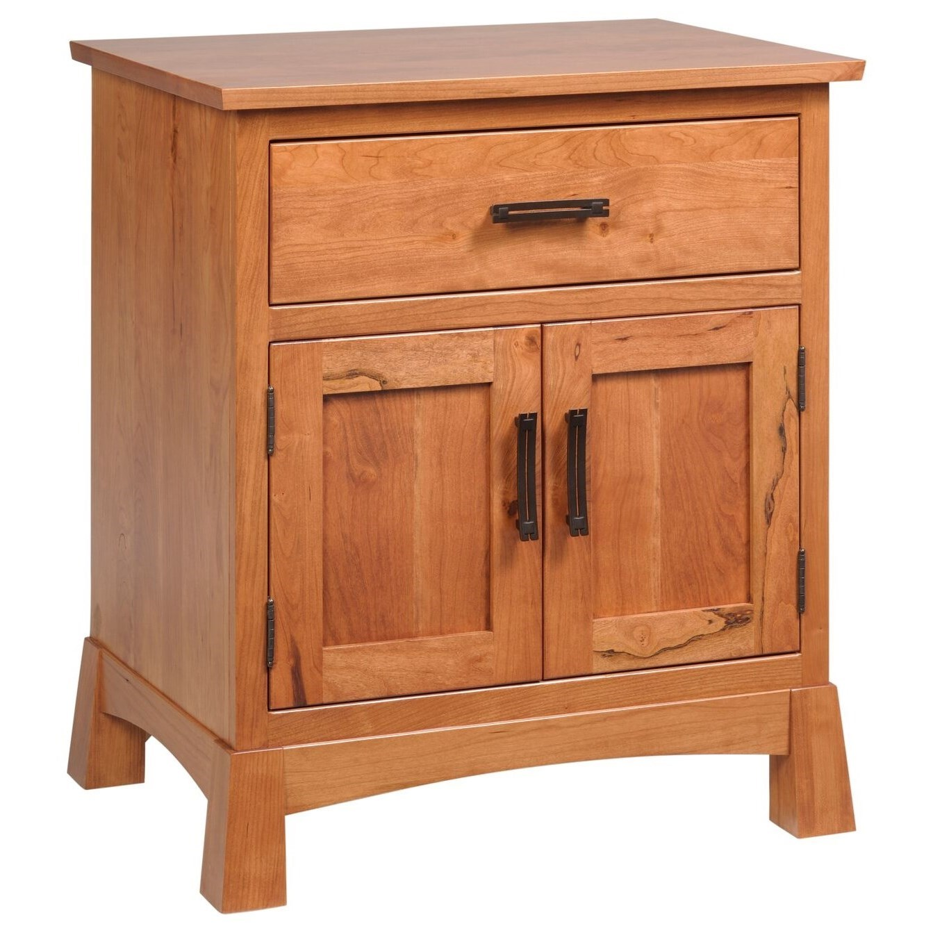 Catalina Nightstand by Millcraft at Saugerties Furniture Mart