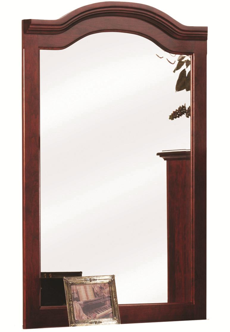 Elegant River Bend Mirror by Millcraft at Saugerties Furniture Mart