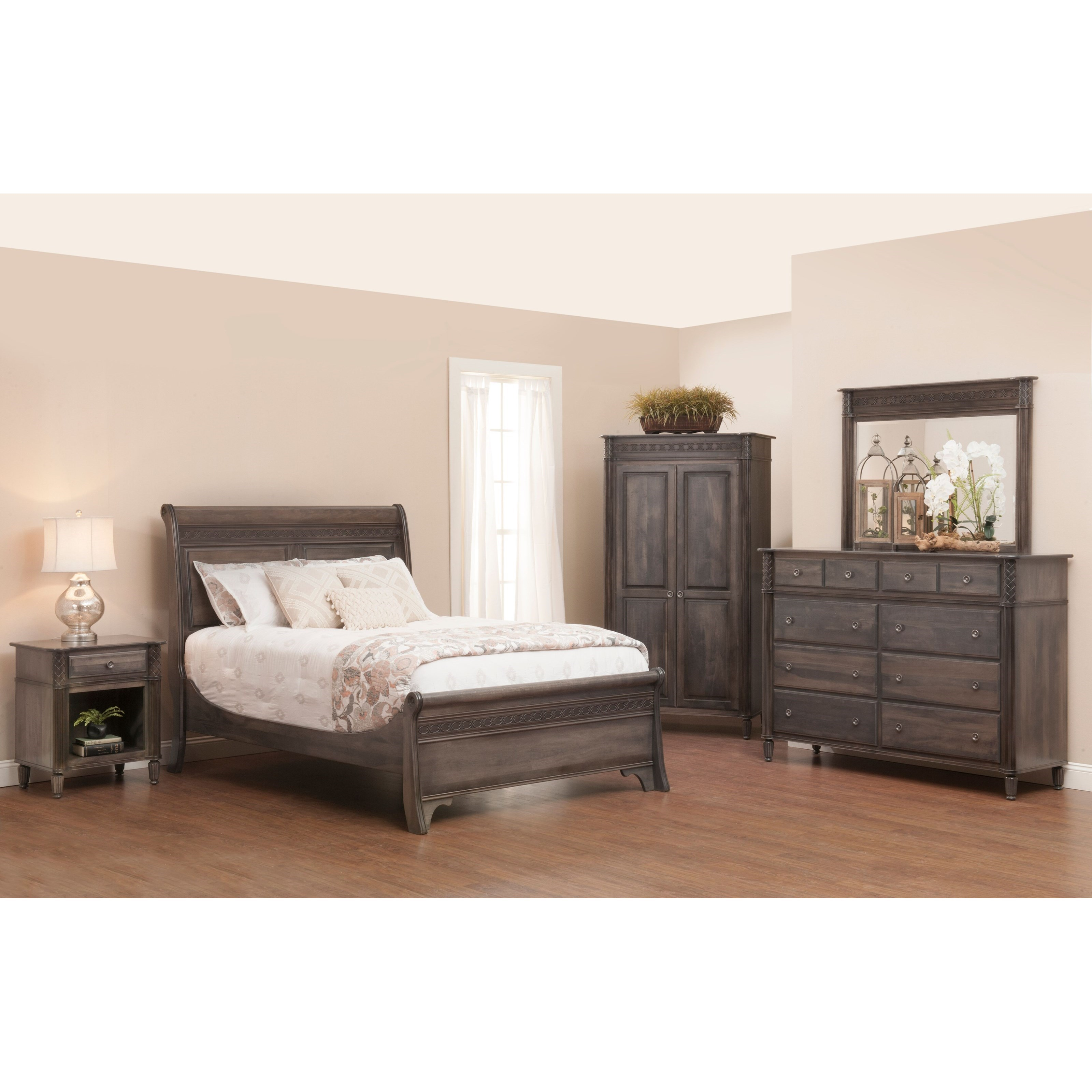 Eminence Queen Bedroom Group by Millcraft at Saugerties Furniture Mart