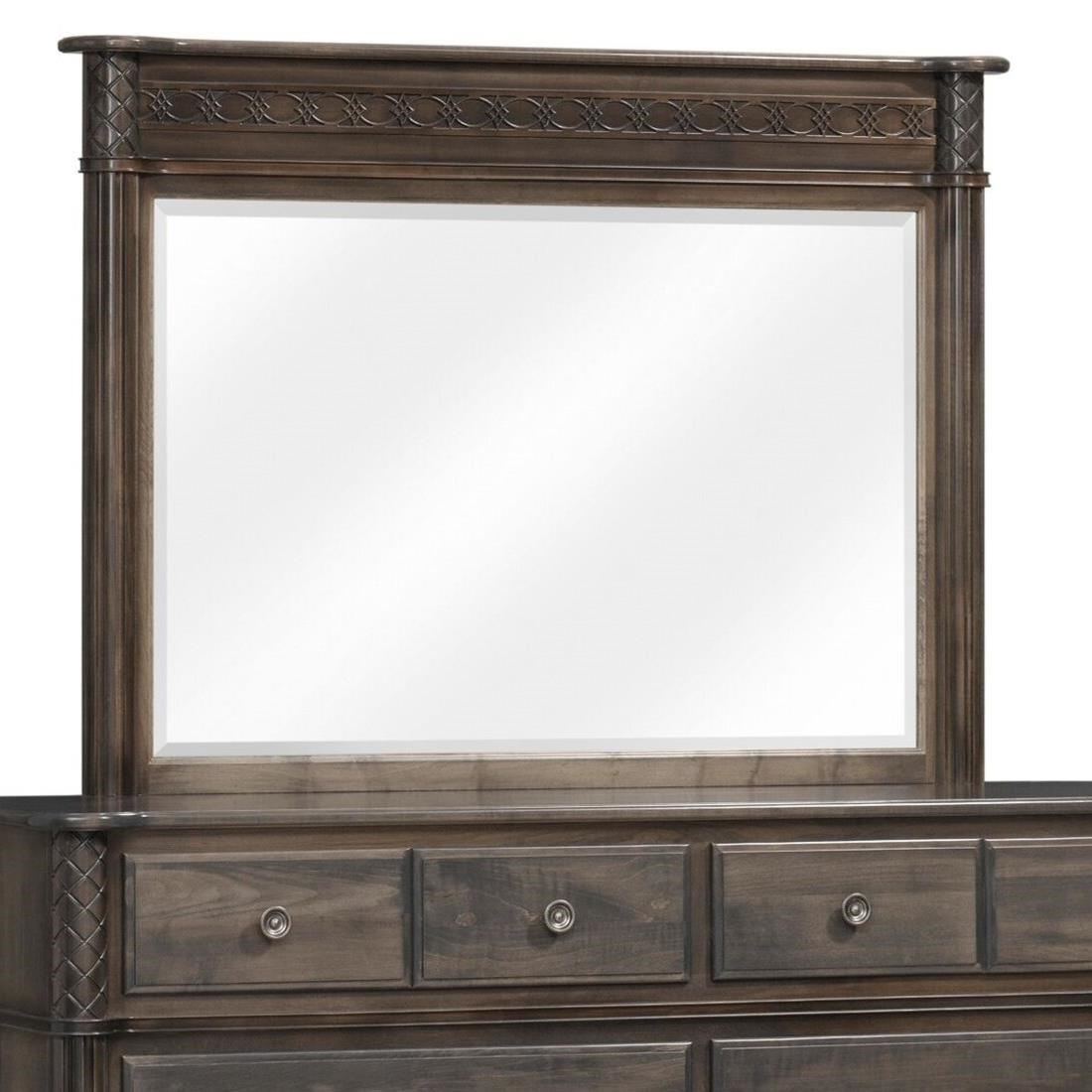 Eminence Mirror by Millcraft at Saugerties Furniture Mart